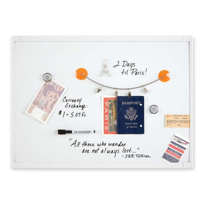 Quartet Mini Magnetic Dry Erase Board 23in x 17in
