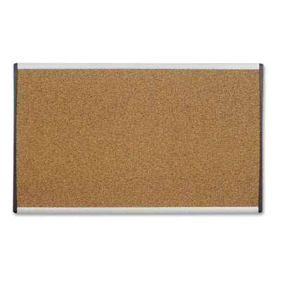 Quartet Arc Frame Colored Cork Board 30in x 18in
