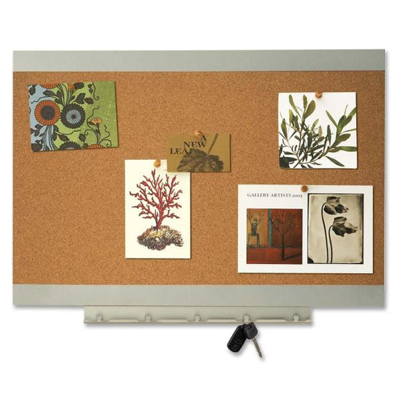 Quartet Environmentally Friendly Bulletin Board 23in x 17in
