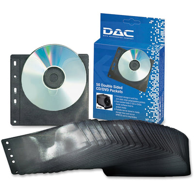 DAC Double Sided CD DVD Pocket