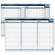 Quartet Double Sided Undated Planner 2 x 3