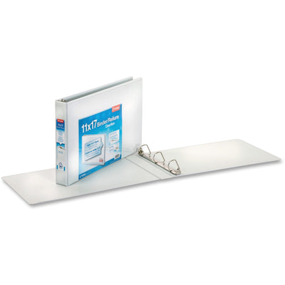 Cardinal ClearVue Overlay Tabloid D Ring Binders 1.5