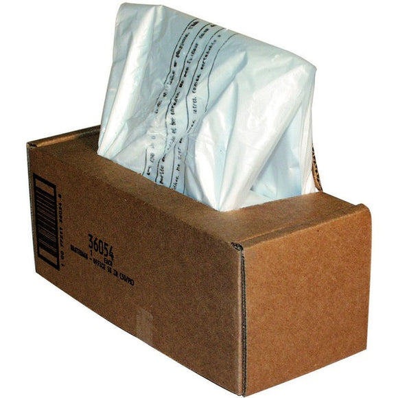 Fellowes Waste Bags for 125   225   2250 Series Shredders