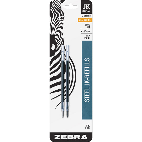 Zebra Pen G 301 JK Gel Stainless Steel Pen Refill