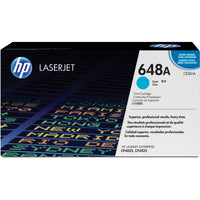 HP 648A Original Toner Cartridge - Single Pack - Laser - Standard Yield - 11000 Pages - Cyan - 1 Each