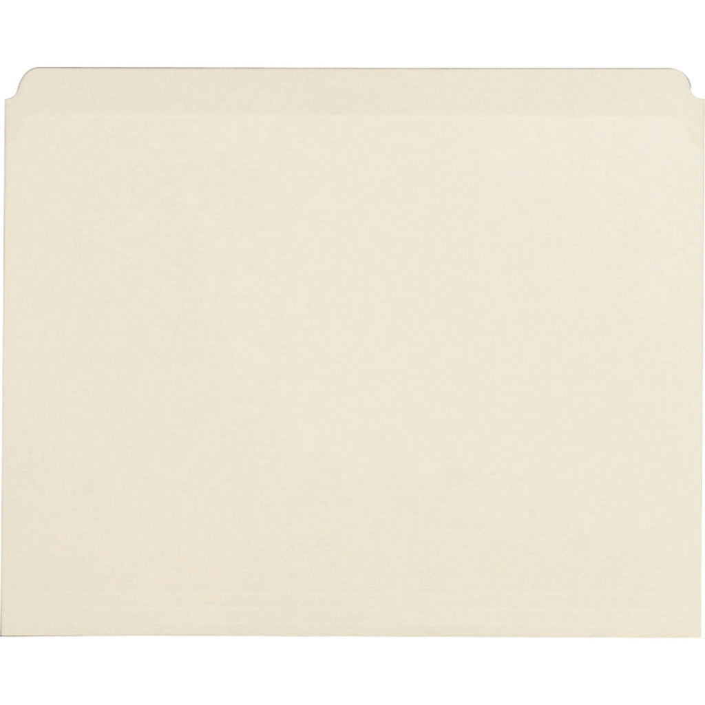 Business Source Straight Cut 1 ply Letter size File Folders