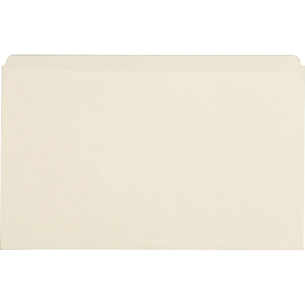 Business Source Straight Cut 1 ply Legal size File Folders