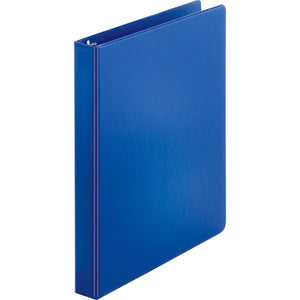 "Business Source Basic Round-ring Binder - 1"" - Dark Blue"