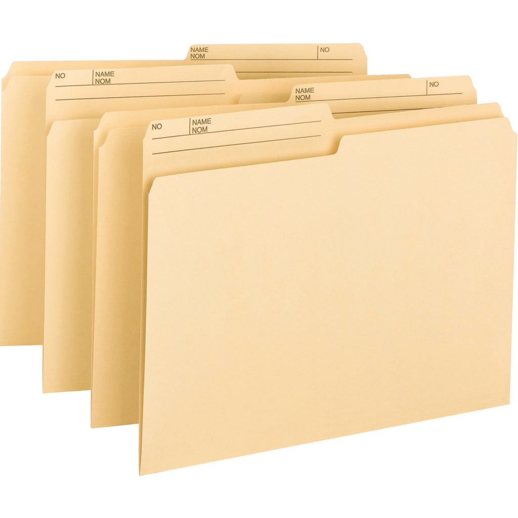 Smead Top Tab File Folder Letter