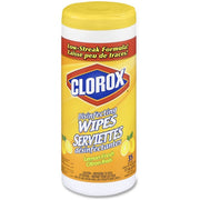 Clorox Disinfecting Wipe - Wipe - Lemon Scent - 1 Each
