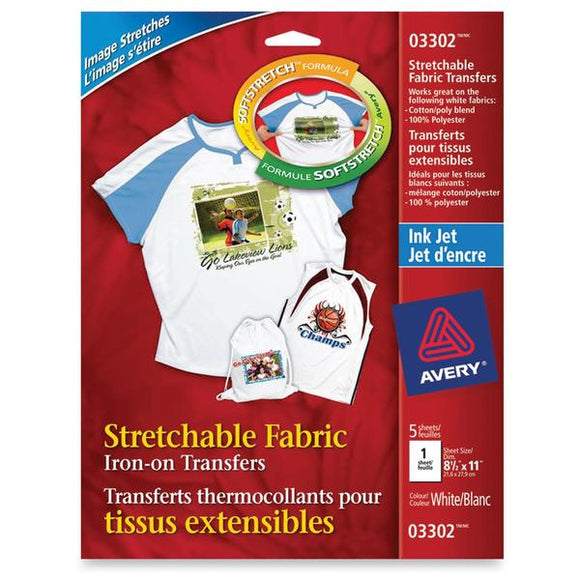 Avery 03302 Iron on Transfer Paper