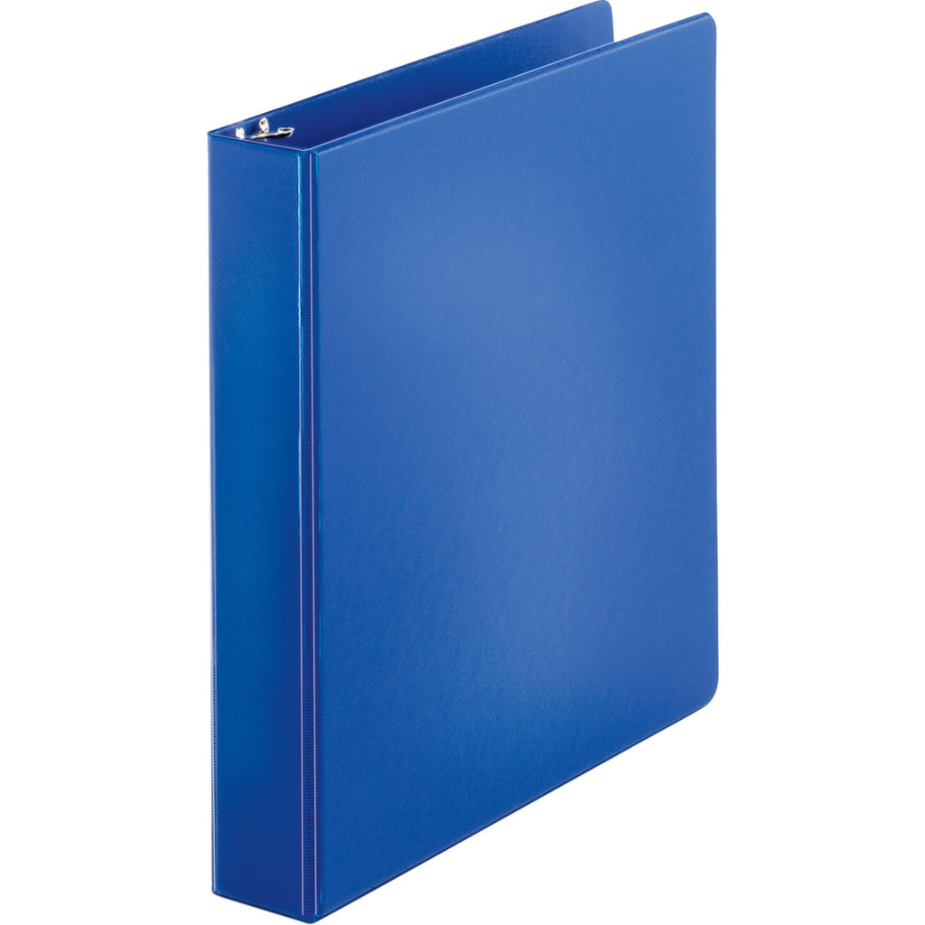 "Business Source Basic Round ring Binder - 1.5"" Binder Capacity"