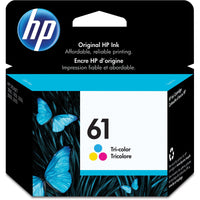 HP 61 Original Ink Cartridge - Single Pack - Inkjet - 165 Pages - Cyan, Magenta, Yellow - 1 Each