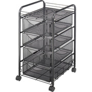 Safco Onyx Double Mesh Mobile File Cart