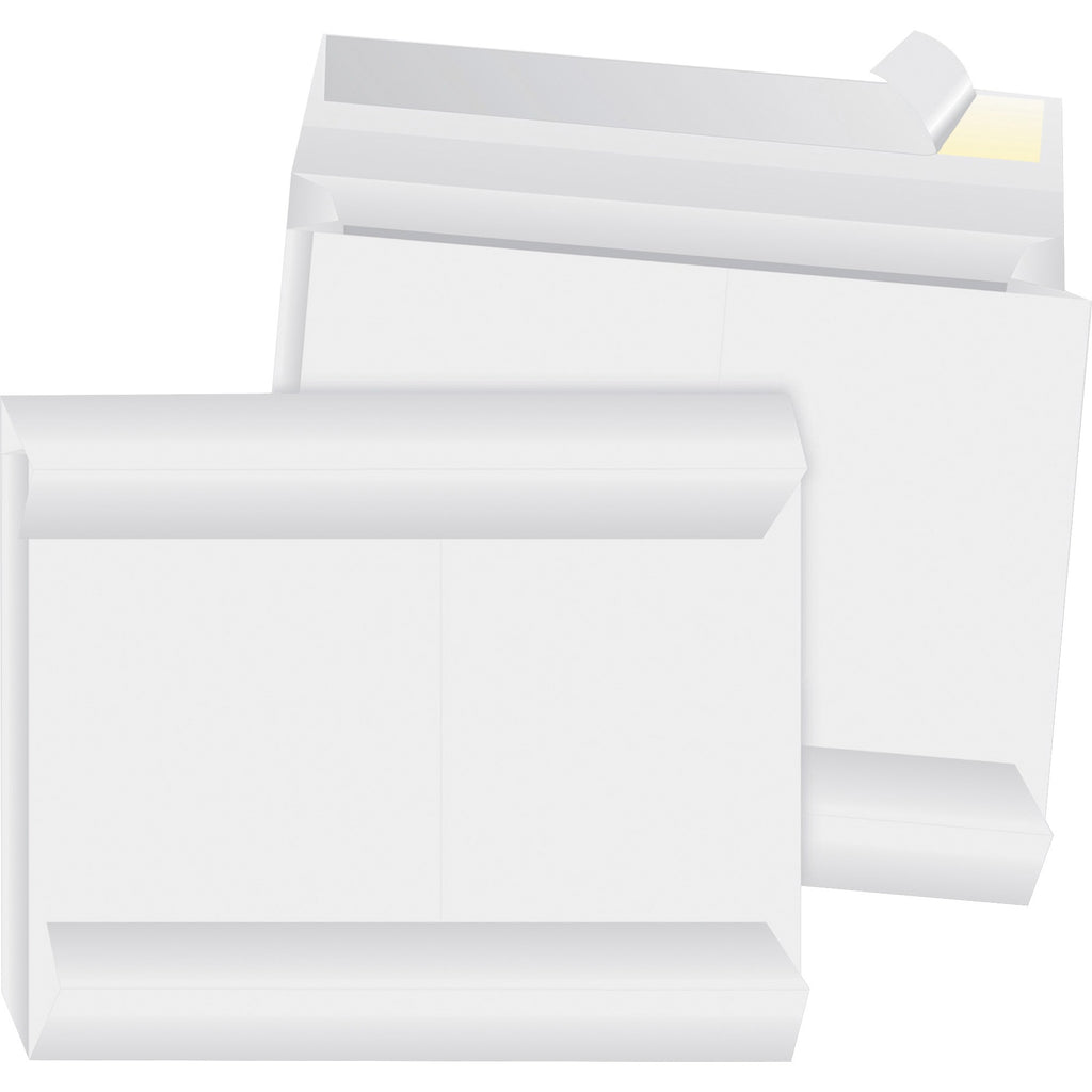 Business Source Tyvek Side openning Envelopes 10 x 13 100PK