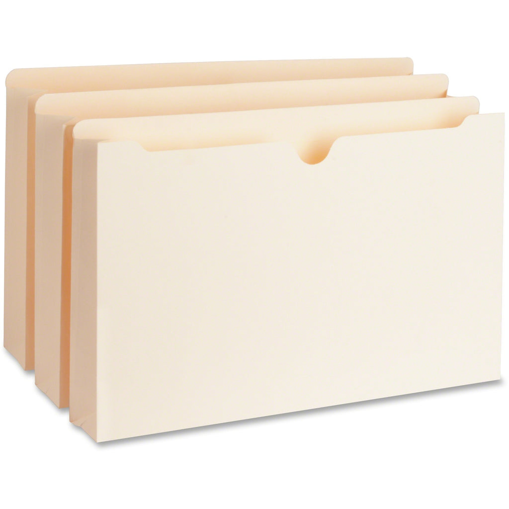 Business Source 2in Expanding 2 Ply File Pockets