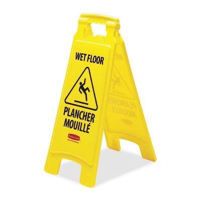 Rubbermaid Wet Floor Caution Sign
