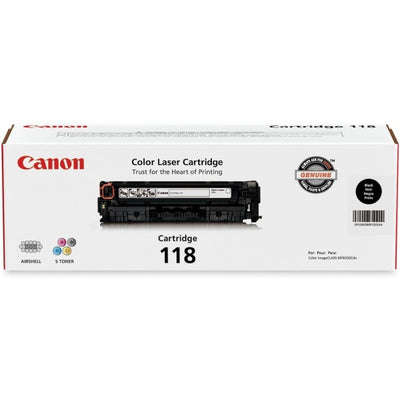 Canon CART 118BK Ink Cartridge - Inkjet - 3400 Pages - 1 Each