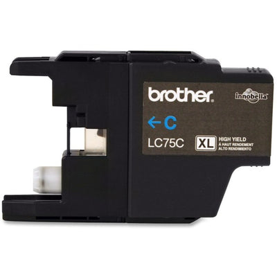 Brother LC 75 CS Original Ink Cartridge - Inkjet - 600 Pages - Cyan - 1 Each