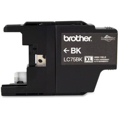 Brother LC 75 BK Original Ink Cartridge - Inkjet - Black - 2 / Pack