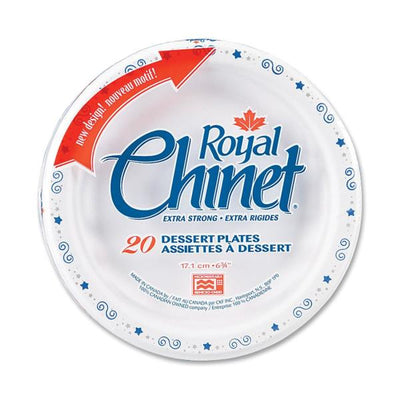 Royal Chinet Royal Chinet Plate 20 Piece(s) / Pack