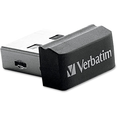 Verbatim 16GB Store 'n' Stay Nano USB Flash Drive   Black