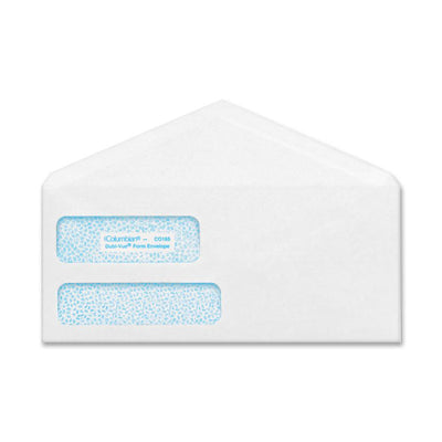 Columbian POLY KLEAR Double window Security Envelopes  No. 9