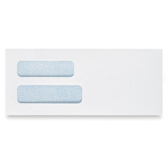 Columbian Grip Seal Double View Window Business Envelopes