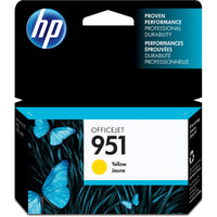 HP 951 Original Ink Cartridge - Single Pack - Inkjet - Yellow - 1 Each