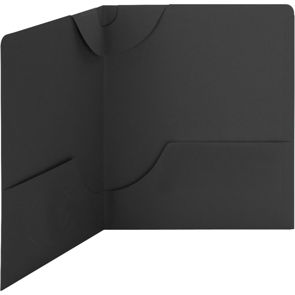 Smead Lockit Textured Stock Letter 2 pocket Folders