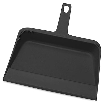 Genuine Joe Heavy-duty Plastic Dust Pan - 12