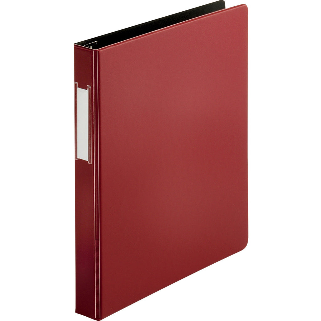 Business Source Slanted D ring Binders 1""