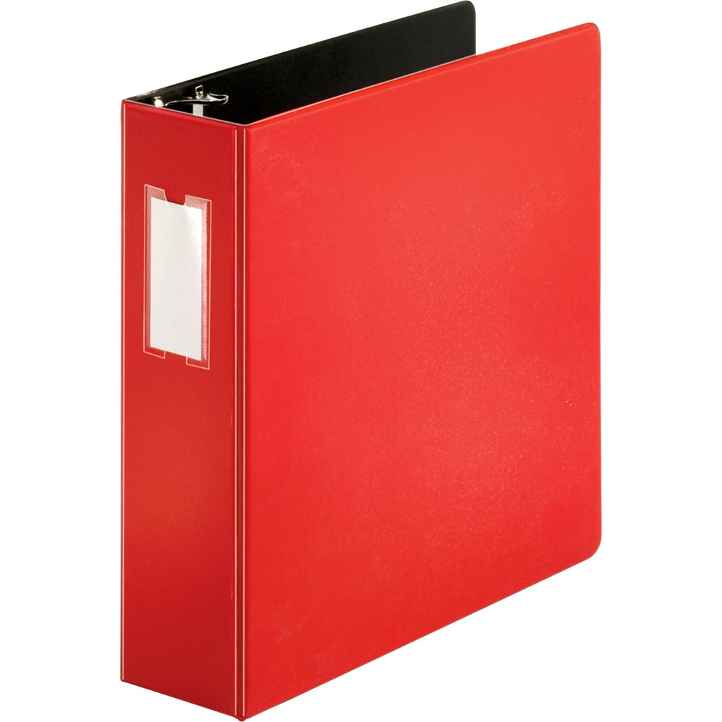 "Business Source Slanted D ring Binders 3"" Binder Capacity"