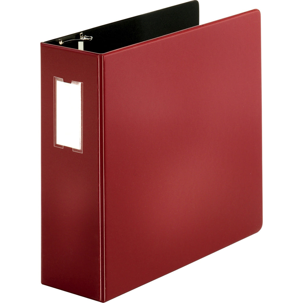 "Business Source Slanted D ring Binders 4"" Binder Capacity"
