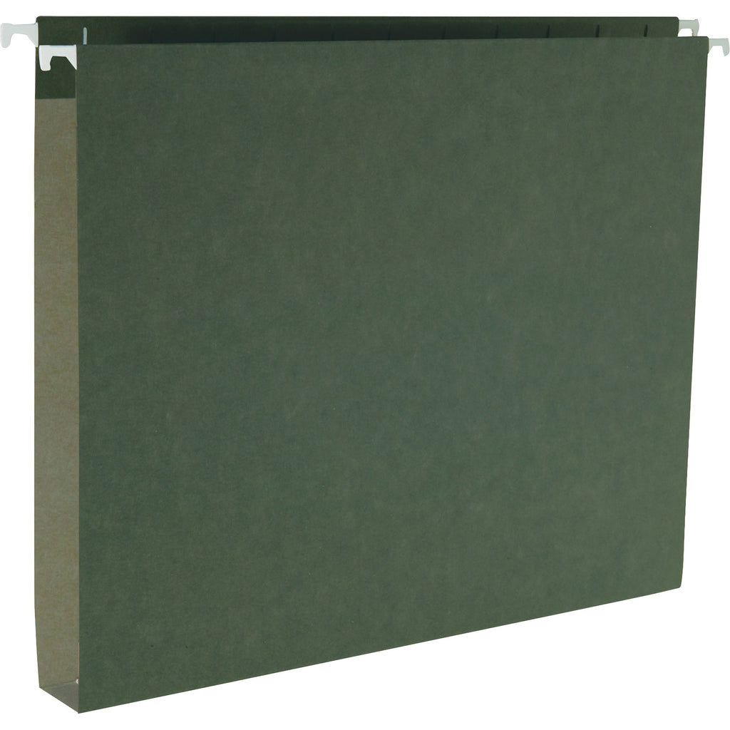Business Source Hanging Box Bottom File Folders - Letter