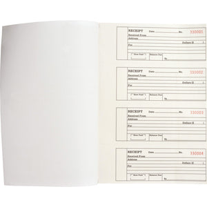 Business Source 2 part Receipt Book
