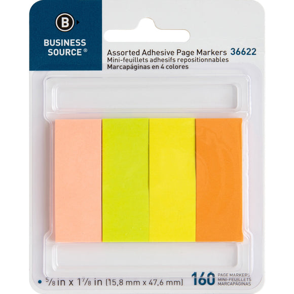 Business Source Removable Page Markers