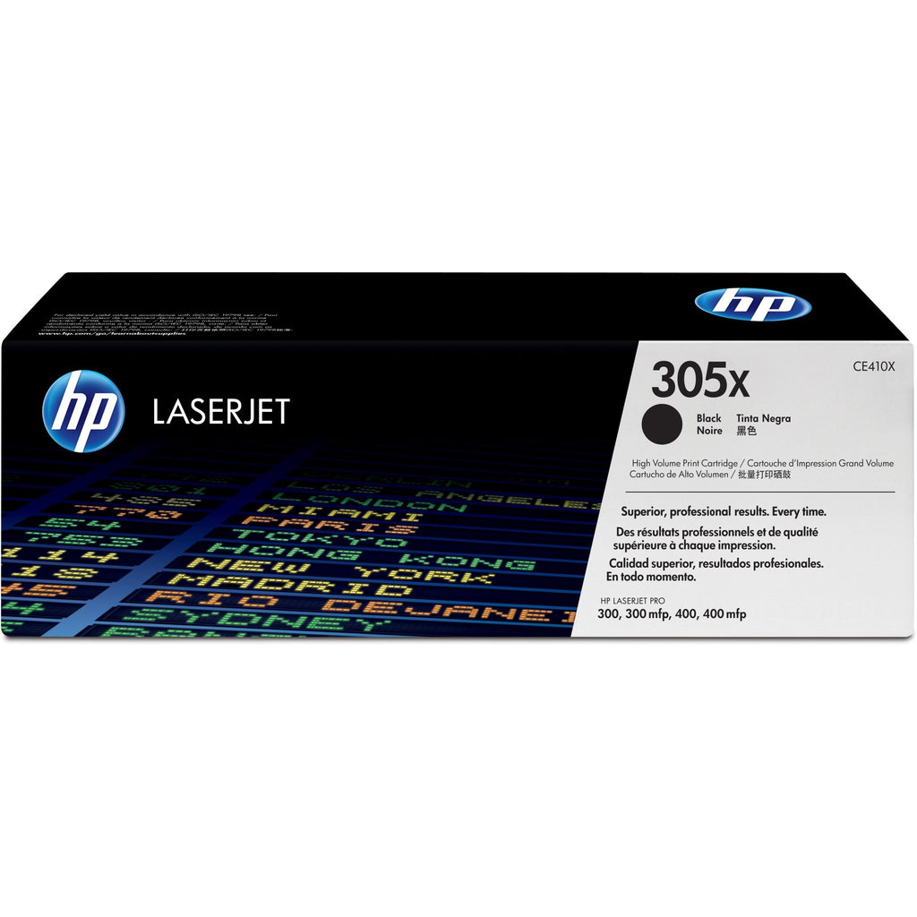 HP 305X Original Toner Cartridge - Single Pack - Laser - 4000 Pages - Black - 1 Each