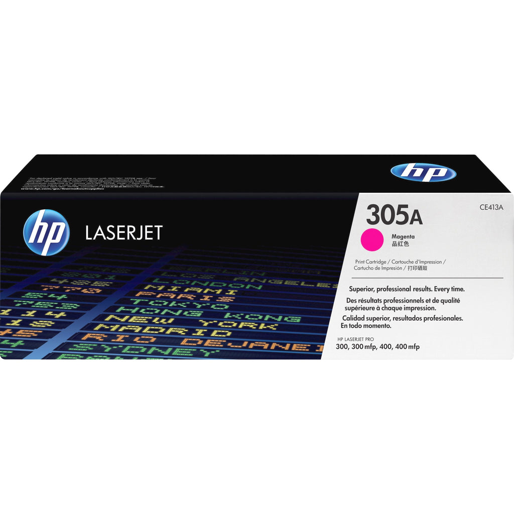 HP 305A Original Toner Cartridge - Single Pack - Laser - Standard Yield - 2600 Pages - Magenta - 1 Each
