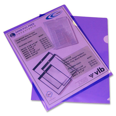 Filemode Letter size Poly View Folders 10PK