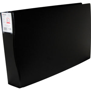 Filemode 11inx17in Duraply Poly D ring Binder