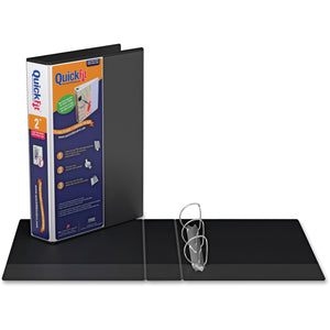 Angle D ring Deluxe Legal View Binder 2""