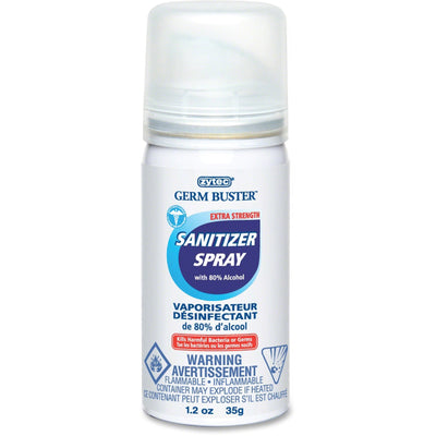 Zytec Germ Buster Extra Strength Sanitizer Spray