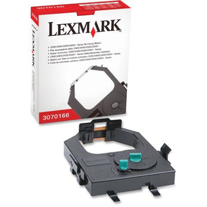 Lexmark Ribbon - Dot Matrix - Standard Yield - 4 Million Characters - Black - 1 Each