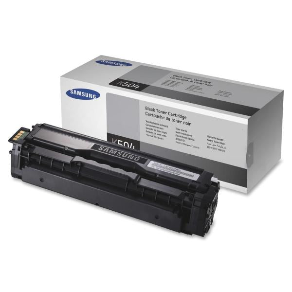 Samsung CLT-K504S Original Toner Cartridge - Laser - 2500 Pages - Black - 1 Each