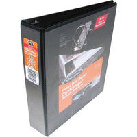 "Wilson Jones ENVI Heavy-duty Customizer D-ring View Binder - 3"" - Black"