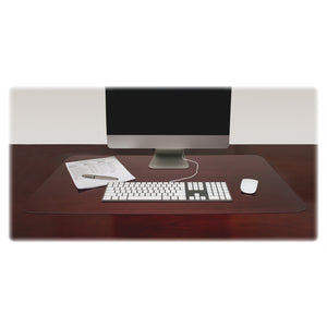Lorell Rectangular Crystal clear Desk Pads