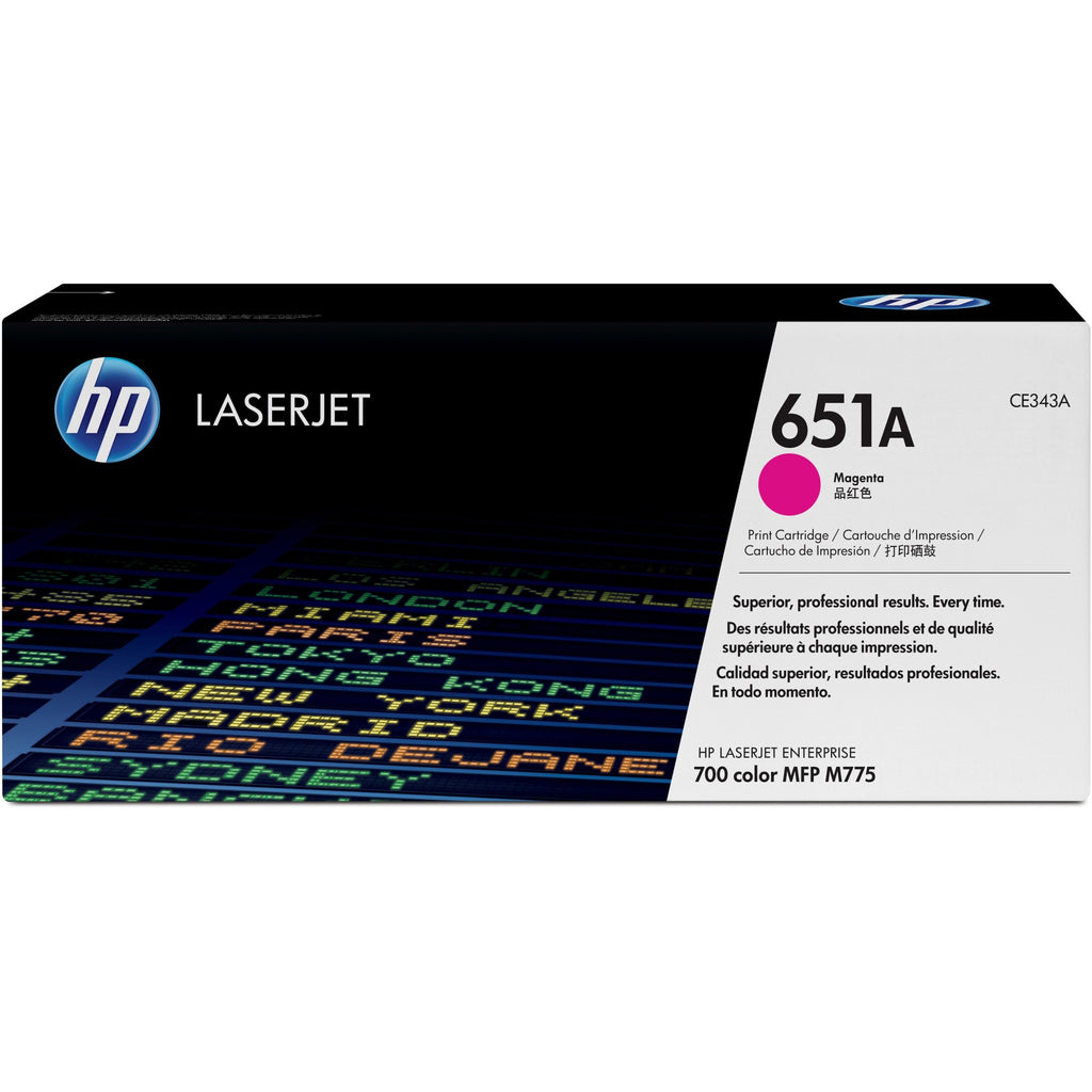 HP 651A Original Toner Cartridge   Single Pack