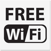 U.S. Stamp & Sign Free Wi Fi Window Sign