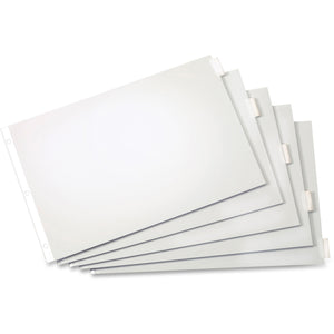Cardinal Insertable Index Dividers 11x17 - 5 Tab